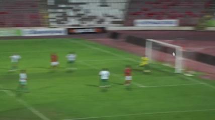 Делев бележи за ЦСКА след националния, Платини също вкарва
