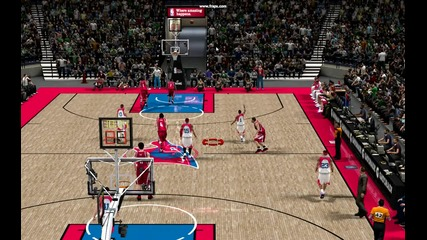 nba2k10 impossible 3 point shot