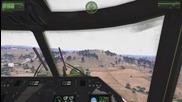 Arma 3 хеликоптер Lynx Mk7 се натъква на вражески единици