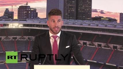 Spain: Man Utd target & new Real captain Sergio Ramos pens new 5-year deal
