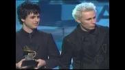 Grammys 2005 - Green Day Best Rock Album