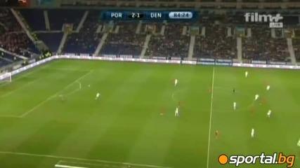 09.10.2010 Португалия - Дания 3 - 1