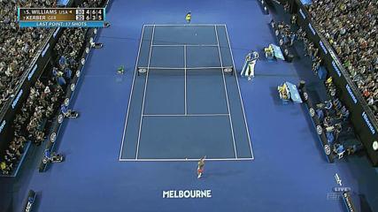 Australian open 2016 Kerber-williams 1080p