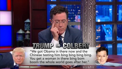 The Late Show with Stephen Colbert - Епизод 11 - 22 Септември '15