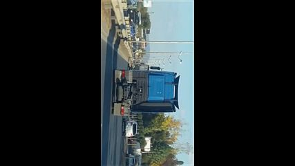 Неправилно шофиране с камион