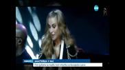Анастейша се качва на сцената в НДК