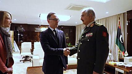 Libya: German FM Maas meets with LNA's Haftar ahead of Berlin conference