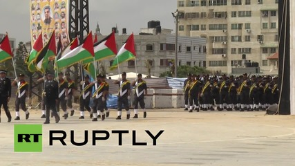 State of Palestine: Hamas hold drills by Yasser Arafat's historic helicopter