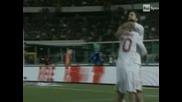 """""""Милан"""" - """"Катания"""" 2:0, ван Бомел с червен картон"""