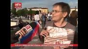 Хиляди хора присъстваха на закриването на предизборната кампания на Атака, 22.05.2014г.