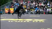 Bmx Flatland - Crazy Ninja Style at Bmx Worlds 2009 in Cologne