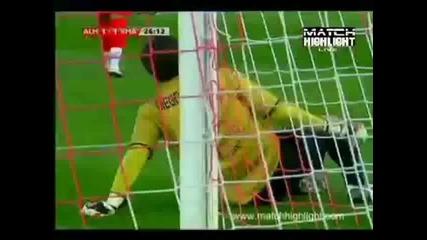 Cristiano ronaldo срещу Алмерия 15.04.10