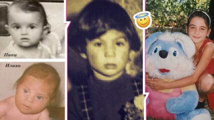 За Деня на детето: Вижте Мон Дьо и Петя Дикова като деца! Какво пожелаха родните звезди на децата си