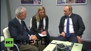 Russia: Putin talks investment with Pirelli CEO Marco Tronchetti in Sochi