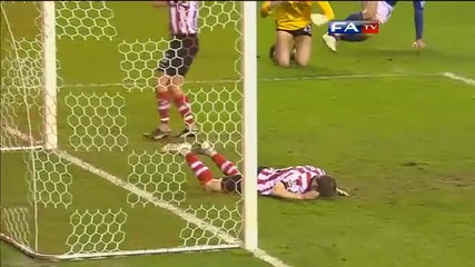 Sunderland 0 - 2 Everton / Official Fa Cup sixth round /