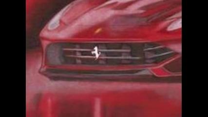 Ферари - дизайн скица