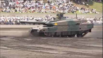 Yaponski super tank Type-10 New Mbt