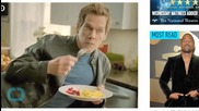 Kevin Bacon Stars in Eggs Ad, Says He Loves the Smell