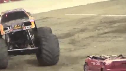 Най - яките провали в Monster truck