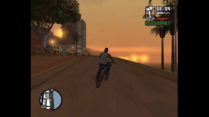 Gta San Andreas Скокове С Колело