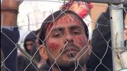"Greece: ""Open the border!"" - Asian migrants demand EU entrance"