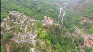 Асеновата крепост през вековете заснета от дрон