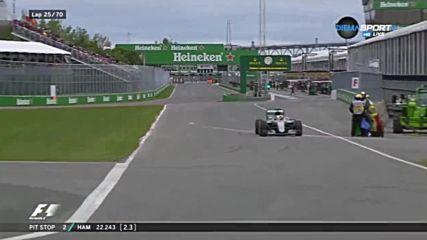 Люис Хамилтън спечели Гран при на Канада