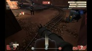 Tf2 Demoman Death From Above Suprise - Goldrush 1 - 1