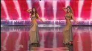 Американки танцуват кючек (бели денс)