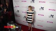 Young Hollywood Party Arrivals Emma Roberts,halston Sage, Claire Holt, Roberts