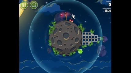 Angry Birds Space - World 1 (1-5)