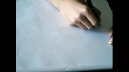 3 D Графит с химикалка Гледайте до край :)