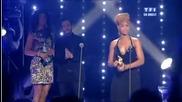 Rihanna wins Nrj 2010 International Female Artist of the Year