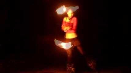 Lili Yo Самостоятелно огнено шоу