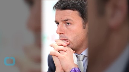 PM Renzi's Popularity Drop Dims Italy's Reform Prospects