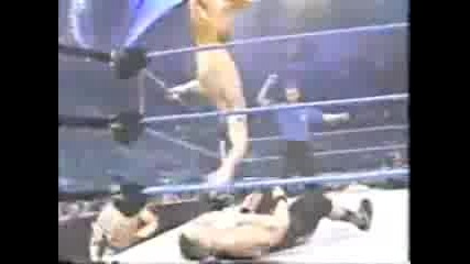 Los Guerreros vs John Cena and B - 2