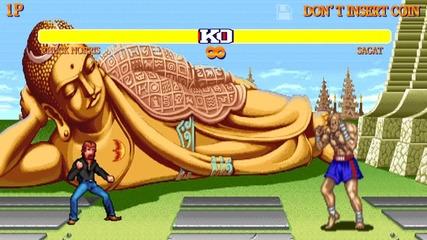 Чък Норис в играта Street Fighter