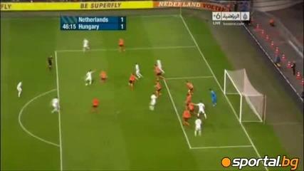Холандия - Унгария 5 - 3
