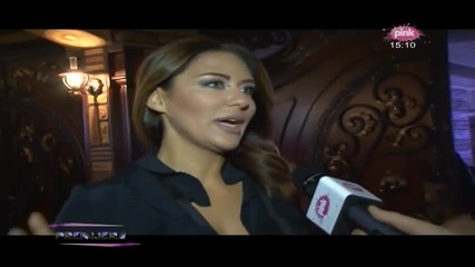 Ana Nikolic - Snimanje novogodisnjeg programa DM SAT TV - (TV Pink 28.11.2014.)