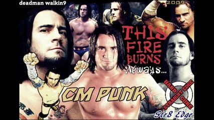 [! Превод + Текст !] Cm Punk - This Fire Burns Theme [2009] [by Killswitch Engage]