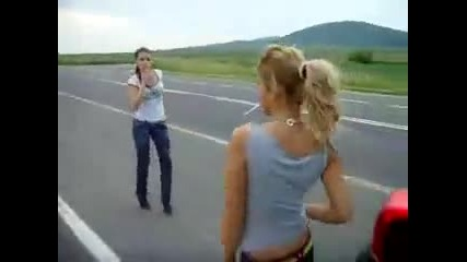 Bulgarian Girls Having Fun (crazy track)