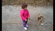 Савина и Линда-детска игра :)