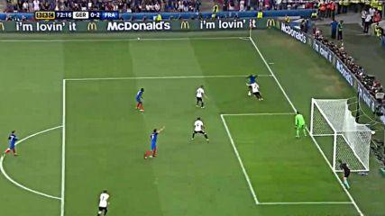 07.07.16 Германия - Франция 0:2 * Евро 2016 *