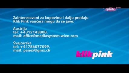 Milica Pavlovic - Reklama - (Klik Pink 2014)