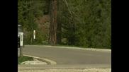 BMW X3. Снимки в движение по междуградски път.