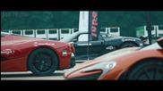 Mclaren P1, разкъсва Laferrari и 918 Spyder в Drag Race