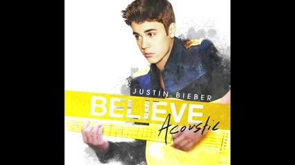 Н О В О Justin Bieber - All Around The World ( Acoustic Album )