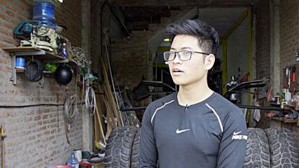 Vietnamese architecture student builds functional Batmobile