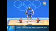 Милен Добрев - вдигане на тежести - 220кг.