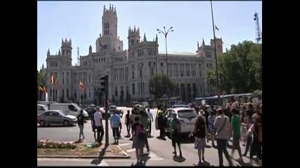 Протести в Испания срещу политиката на икономии